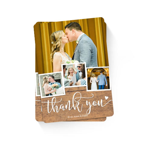 Thank You Rustic Heart