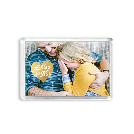 Photo gifts make your own personalised photo gifts snapfish uk 3x2 acrylic magnet negle Image collections