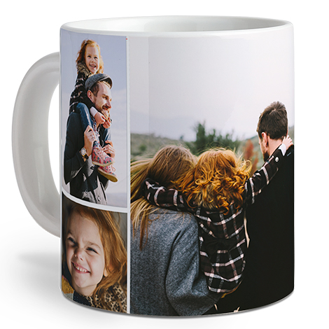 Icon Collage Photo Coffee Mug, 20 oz.
