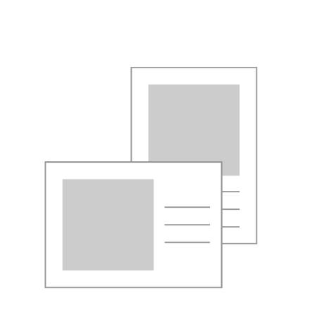 "5x7"" (12.5x17.5cm) Flat Cards"