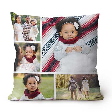 Icon Collage Throw Pillows