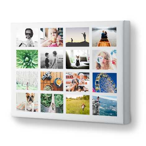 Icon Collage Canvas Prints