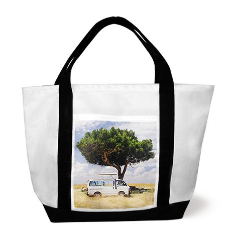 Custom Photo Tote Bags Canvas T Shirts