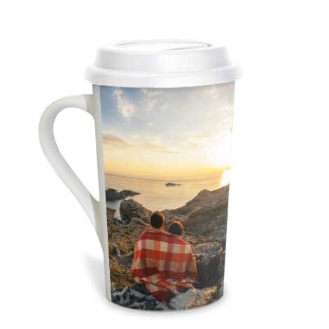 Icon Grande Coffee Mug, 16 oz with lid