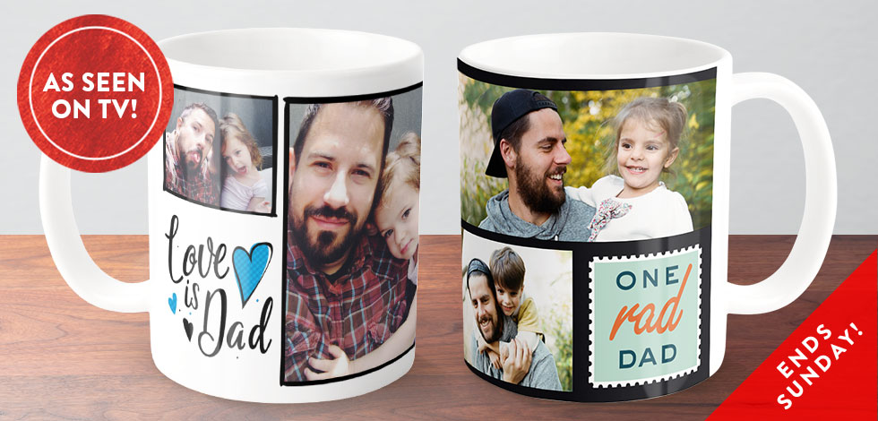 FATHER'S DAY COFFEE MUG