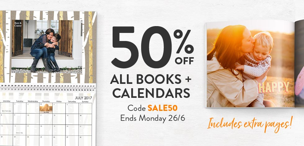 Shop Books + Calendars
