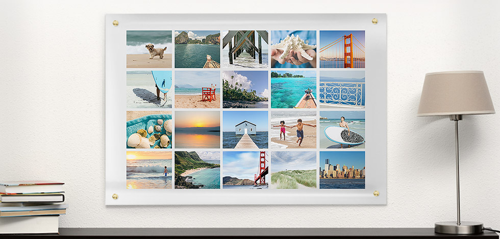 Fotoposter & Fotocollage 100% individuell gestalten: ab 1,49 € »