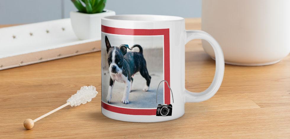 Una tazza unica con foto