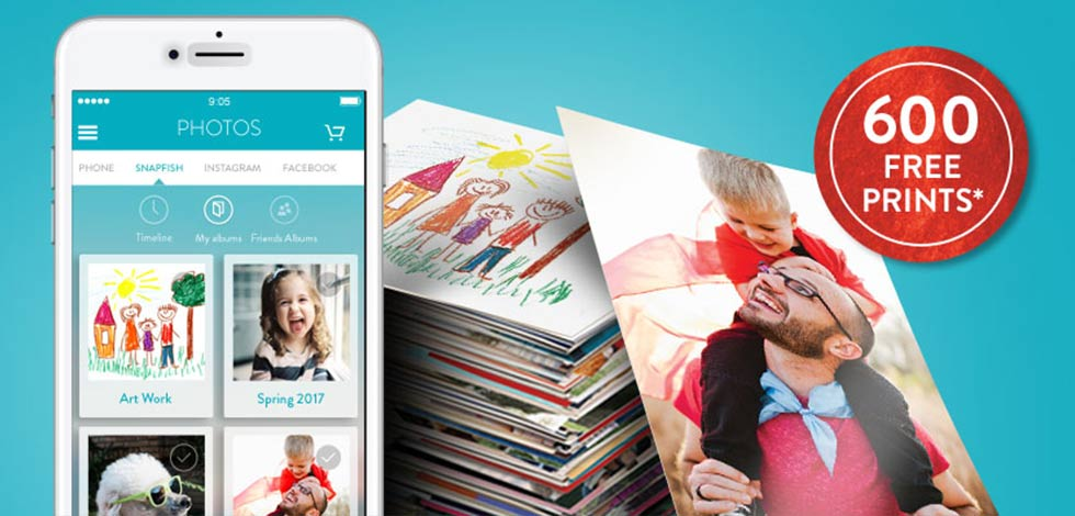 Snapfish Mobile App | 600 free prints with our easy-to-use mobile app