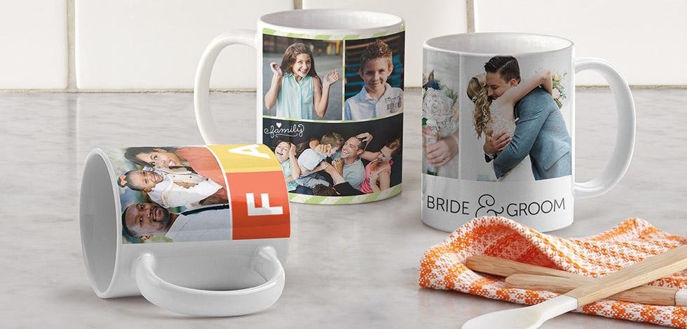 Creating a collage mug