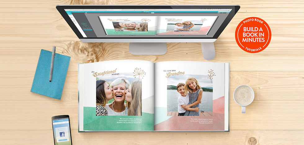 Photo book builder guide
