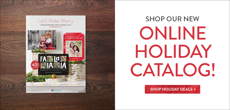 40% OFF Our Holiday Catalog