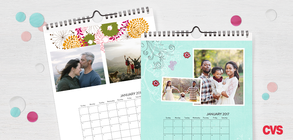 8x10 Single-sided Wall Calendar