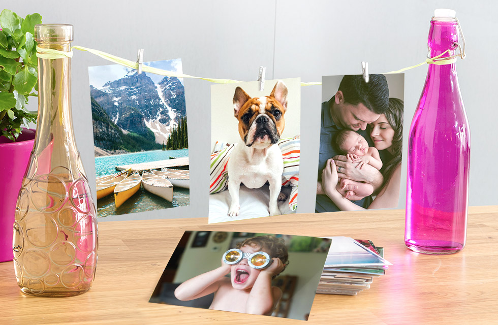 High quality photo prints