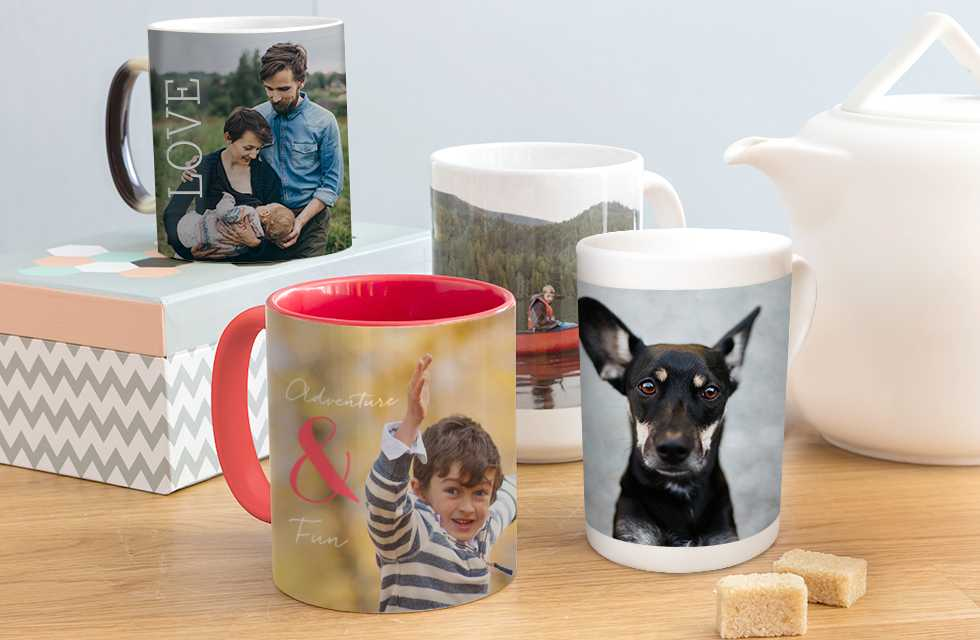 Design your own personalised Mugs