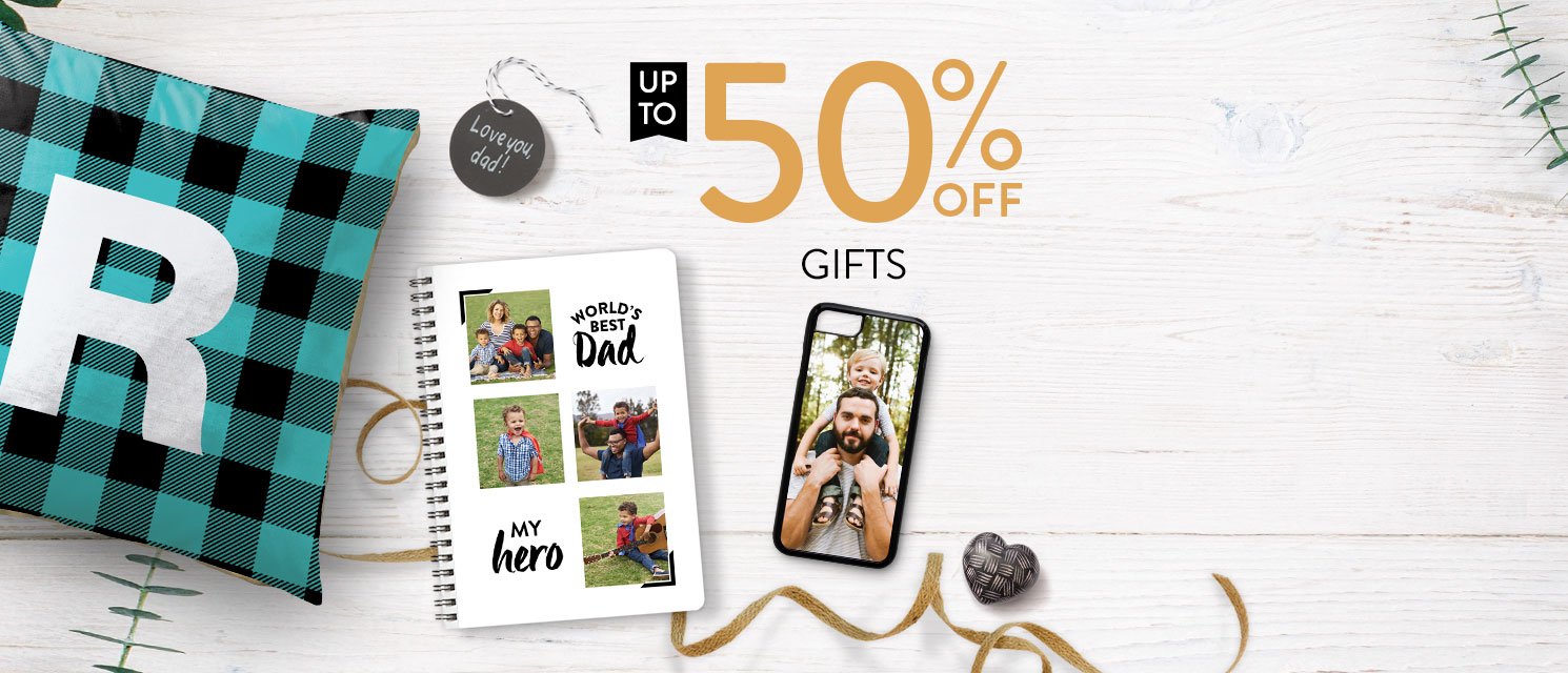 King for a Day : Surprise Dad with a one-of-a-kind gift this year. All gifts are now up to 50% off!Use code GIFT518 by 20/5.