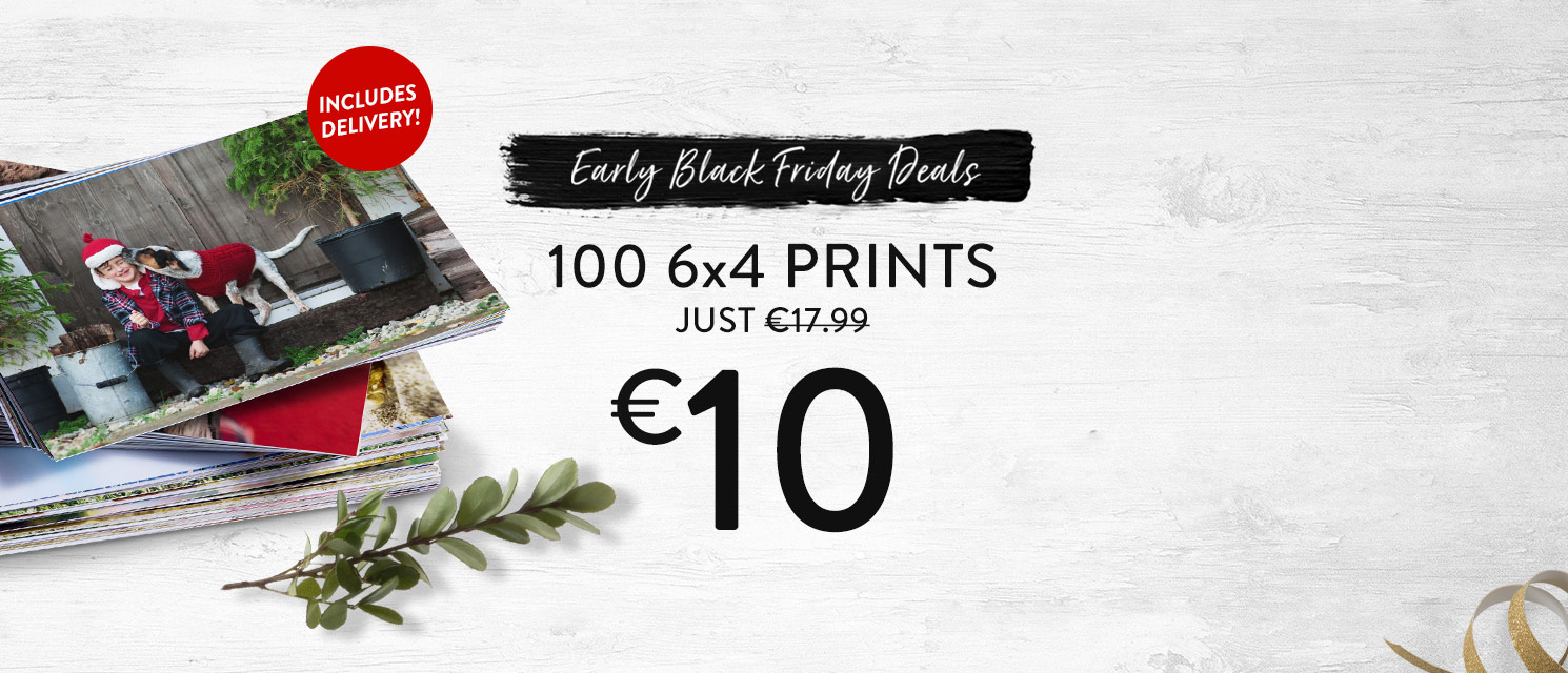 100 10x15 Prints for just €10!