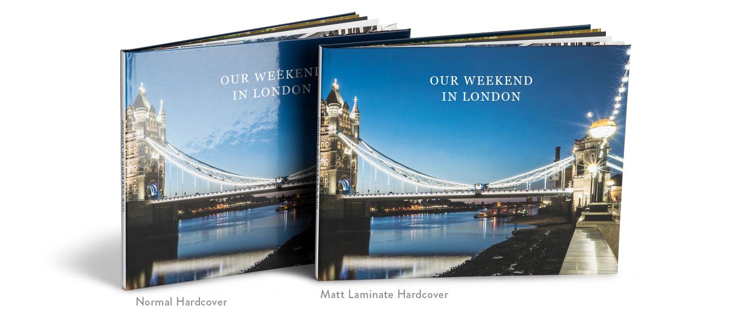 Matt Hardcover Photo Book