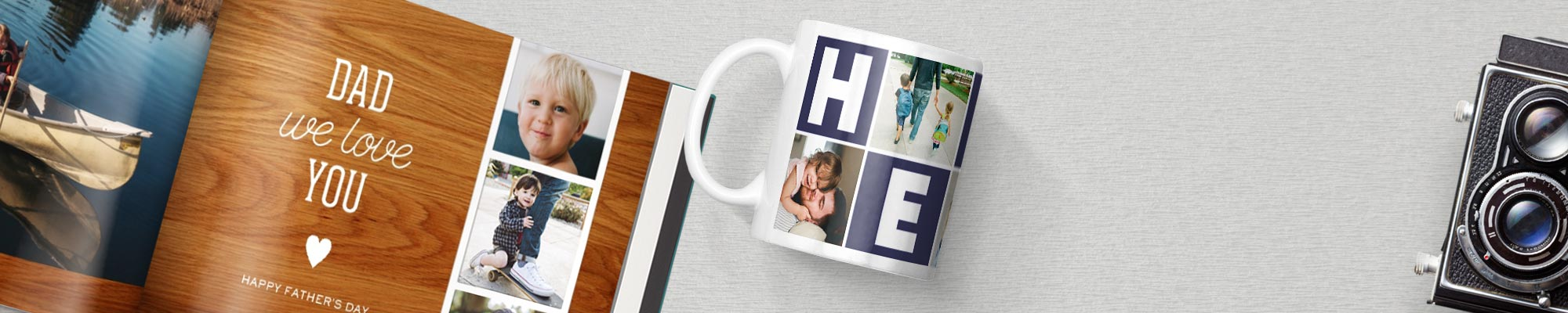 Photo gift ideas for Dad