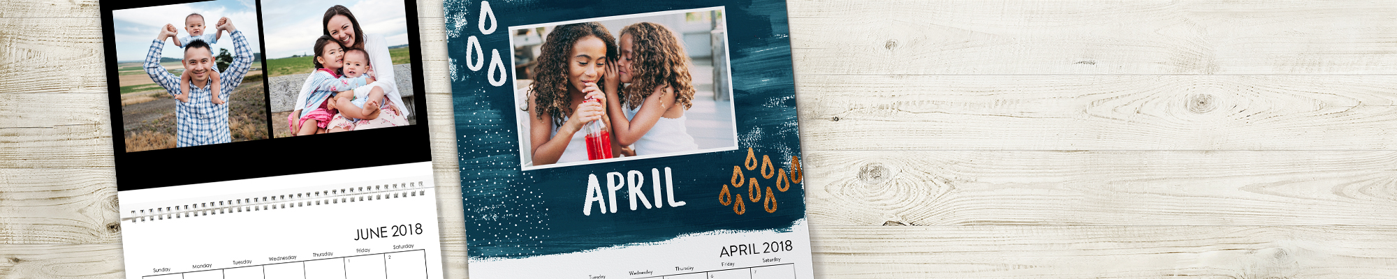 2018 Photo Calendars  Fill your home with a vibrant collection of your favorite moments, places, and faces.