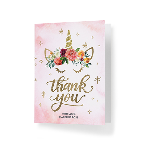 Kid Thank You Cards