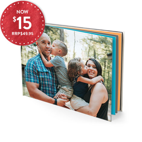 20X28CM HARDCOVER GLOSSY PAGE BOOK