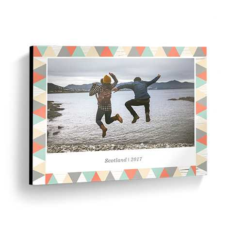 "14x11"" Wooden Wall Photo Panels"