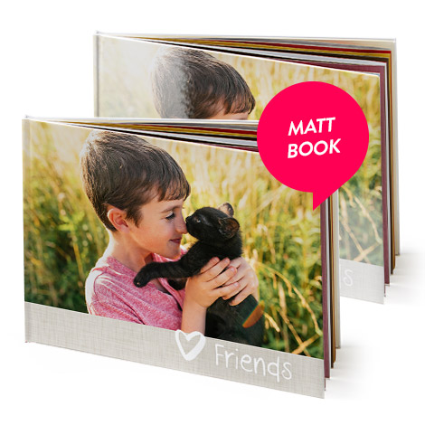 A4 Matt Hardcover Photo Book