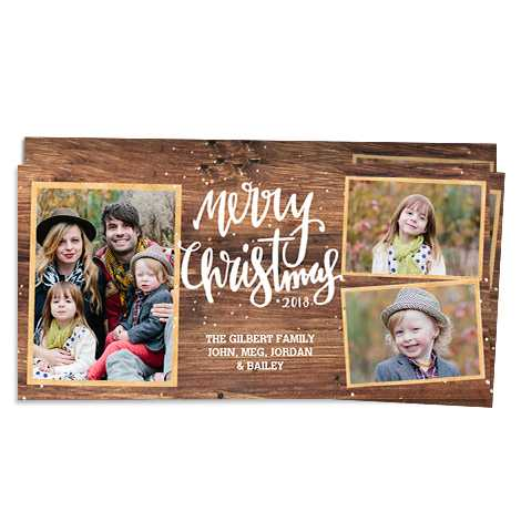 Rustic Christmas Greeting