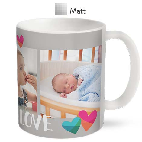 Matt Coffee Mug 330ml (11oz)