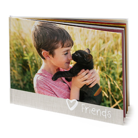 "15.5x11"" Landscape Photo Book (A3)"