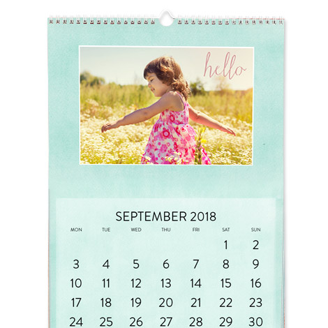 """A3 Wall Calendar (12x16.5"""")"""