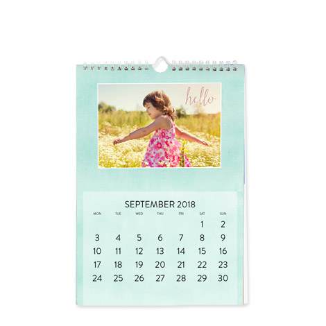 """A4 Wall Calendar (8x12"""")"""