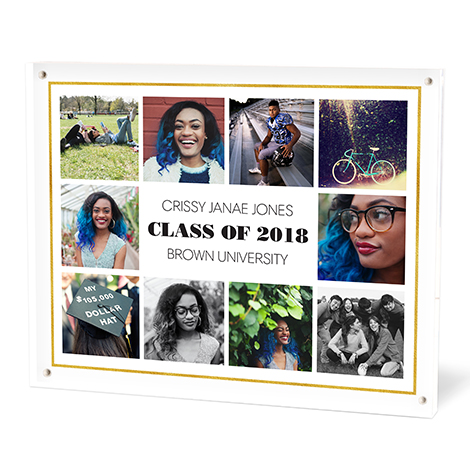 Personalized Acrylic Photo Block