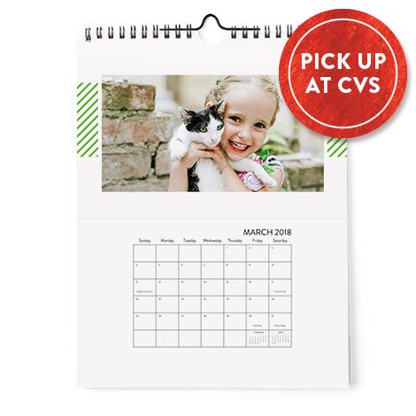8x10 Single Sided Calendar