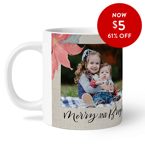 61% off 11oz. Photo Coffee Mug