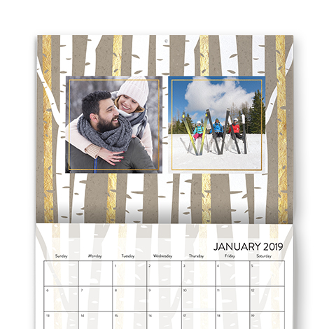 PREMIUM STATIONERY WALL CALENDAR