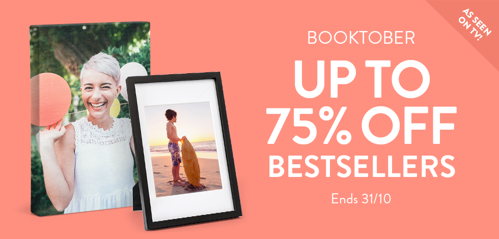 Save up to 75% off bestsellers