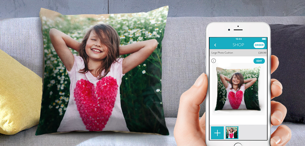 Make Photo Cushions on Your Phone