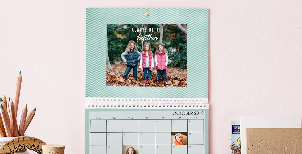 Photo Calendar Creation