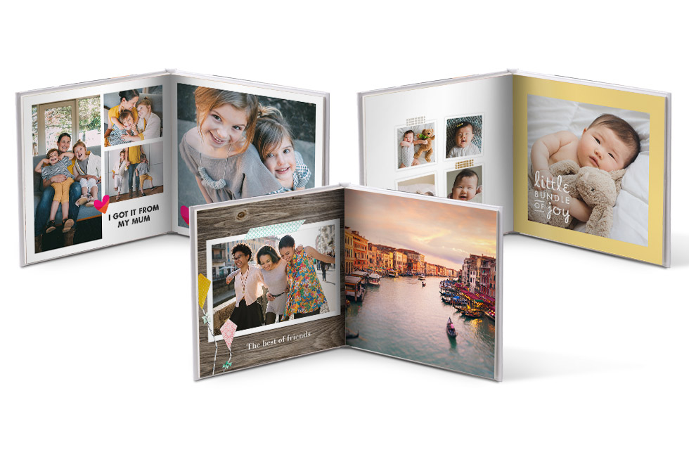 Photo Books: Create Your Personalised Photo Album | Snapfish UK
