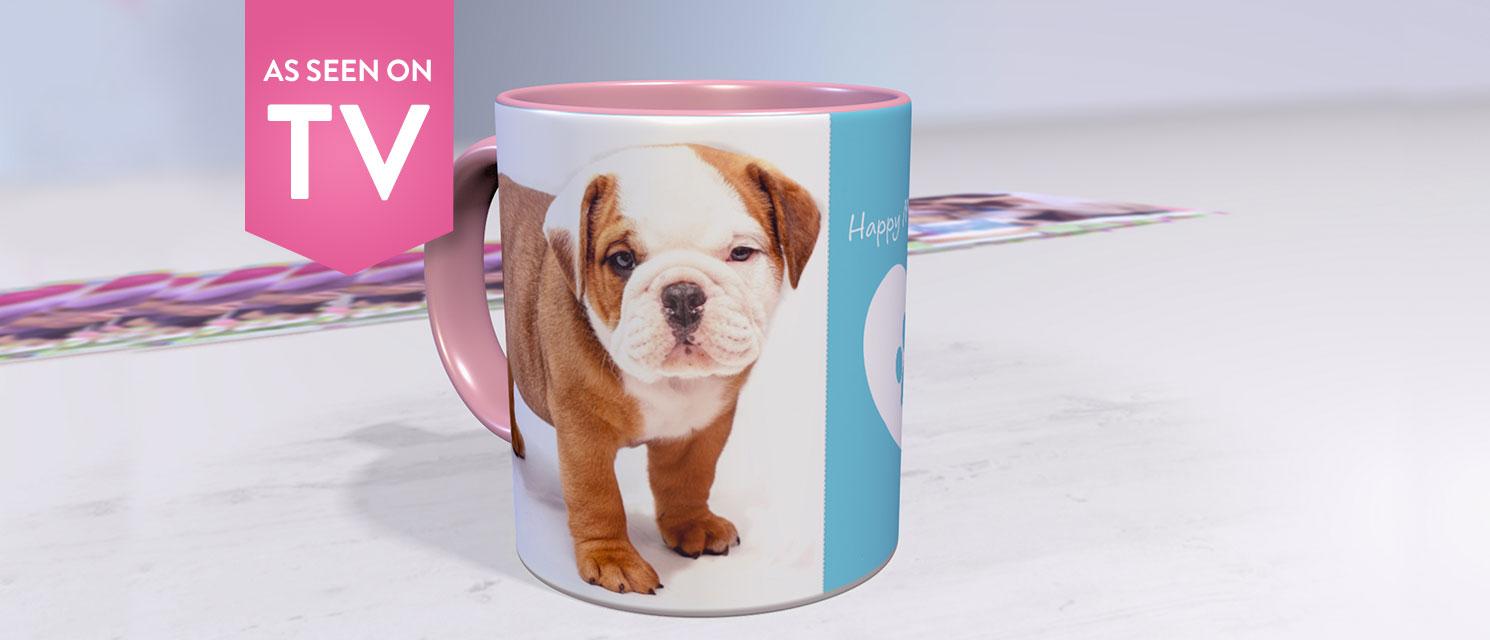 Coloured Coffee Mugs just £5!