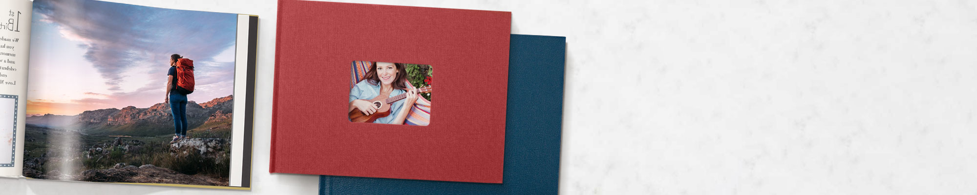 CLEARANCE75% off linen and leather books*