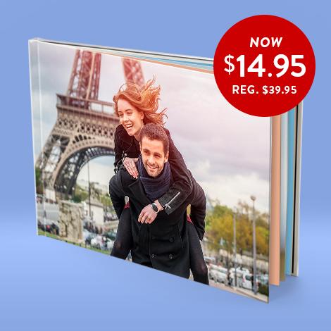 20x28cm Hardcover Photo Book