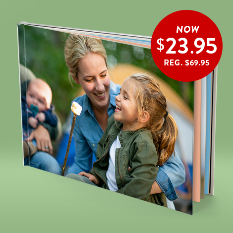 28x35cm Hardcover Photo Book