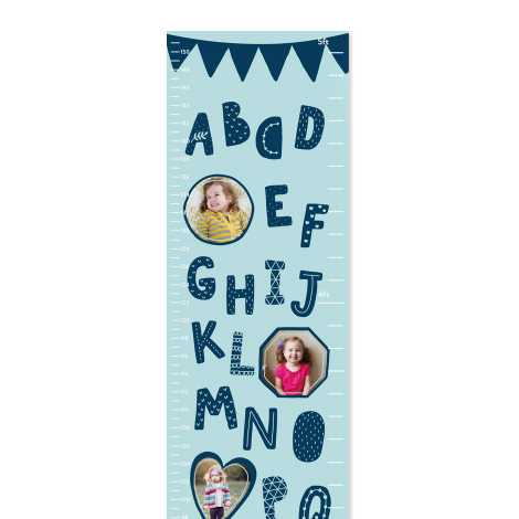 Alphabets Height chart