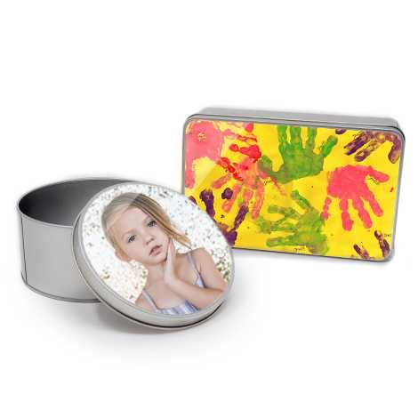 Personalised Tins