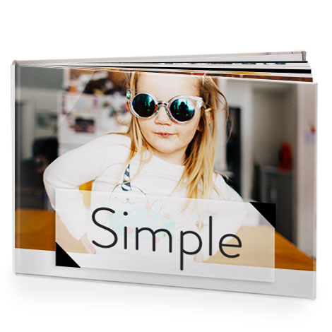 Simple and elegant photo albums