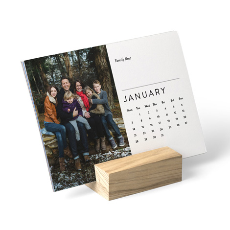 Wood Block Desk Calendar designs