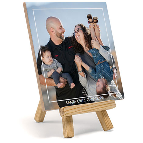 Photo Tile With Stand
